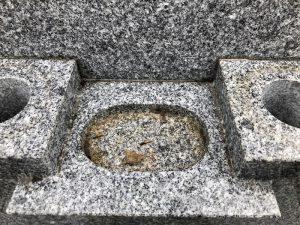 掃除前_水鉢皿